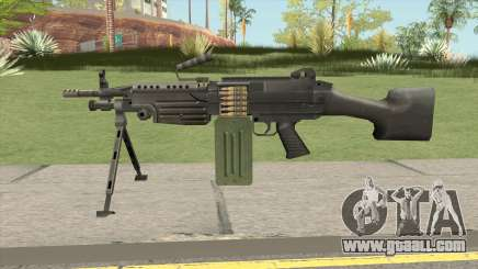 Firearms Source M249 for GTA San Andreas