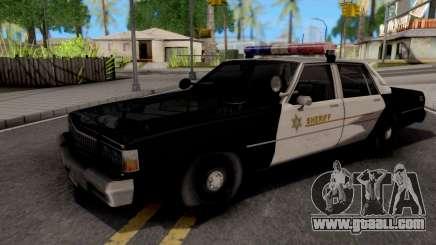 Chevrolet Caprice 1987 Las Venturas Police for GTA San Andreas