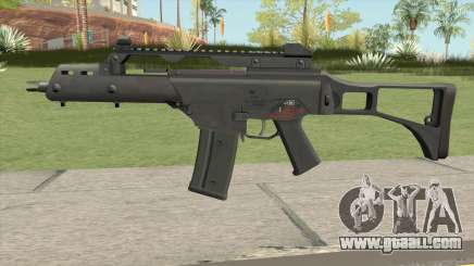 Firearm Source G36C Default for GTA San Andreas