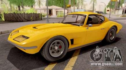GTA V Invetero Coquette Classic Hardtop IVF for GTA San Andreas