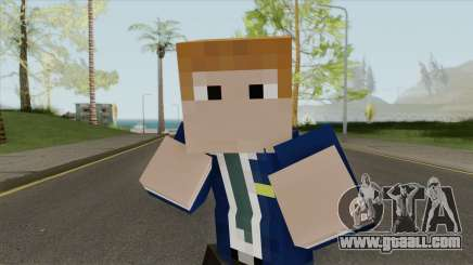 FBI Minecraft Skin for GTA San Andreas