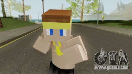 Vagos Minecraft Skin for GTA San Andreas