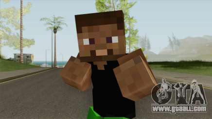 Grove Minecraft Skin for GTA San Andreas