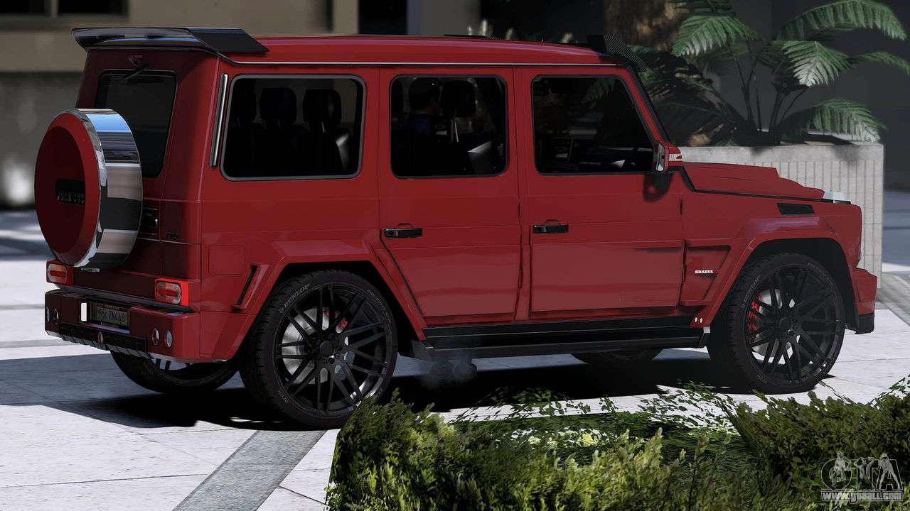 Mercedes G700 Brabus G Class For Gta 5