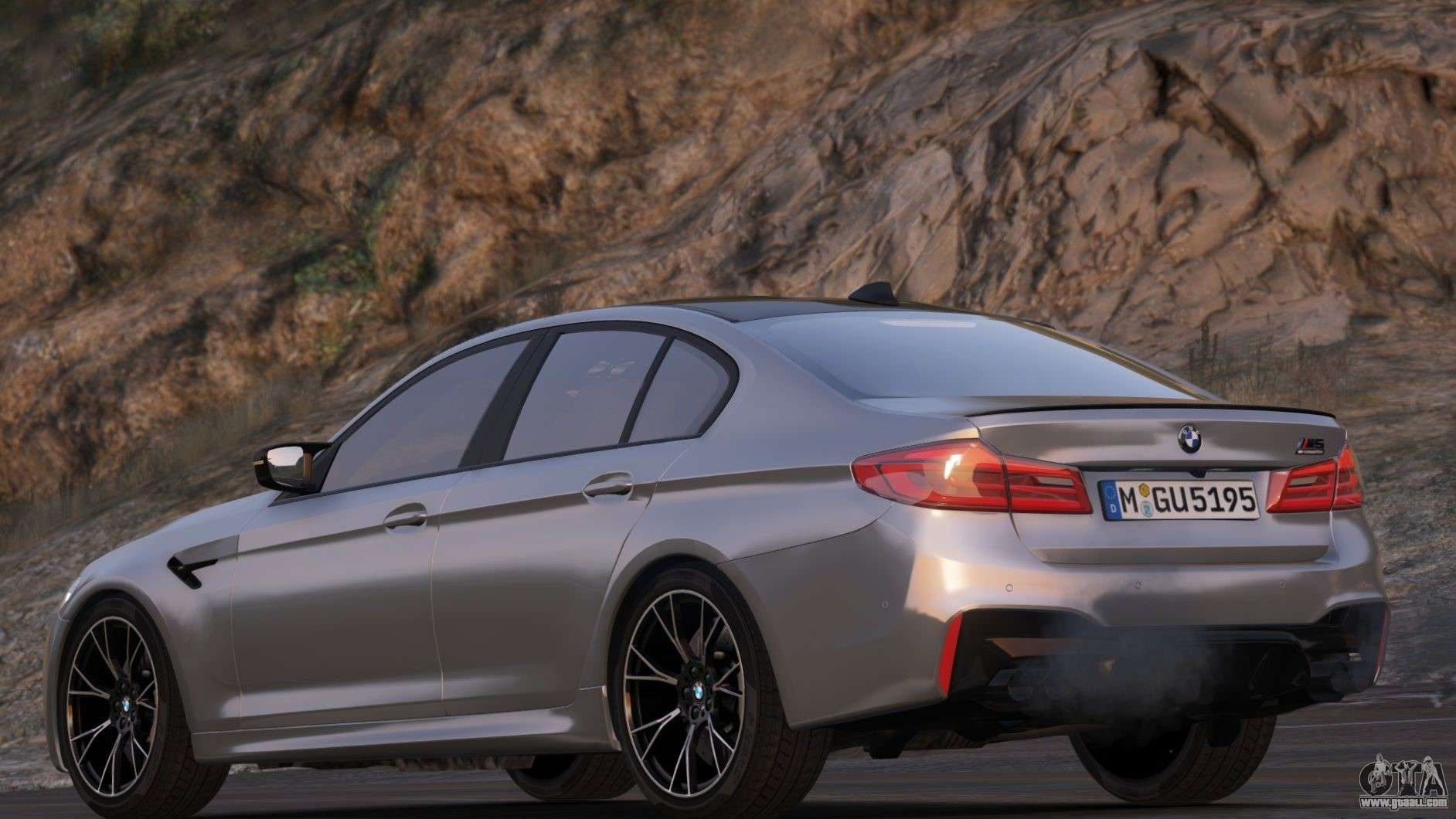 Bmw M5 Competition F90 2019 For Gta 5
