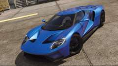 Ford GT 2017 Blue for GTA 5