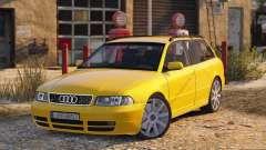 Audi S4 Avant 1999 for GTA 5