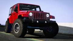 Jeep Wrangler 2012 Rubicon for GTA 5