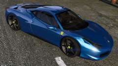 Ferrari 458 Italia for GTA 5