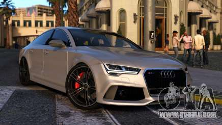 Audi RS7 Sportback 2015 for GTA 5