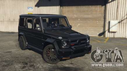 Mercedes G700 BRABUS G-class for GTA 5