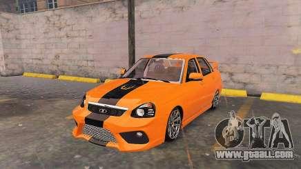 Lada Priora Tuning for GTA 5