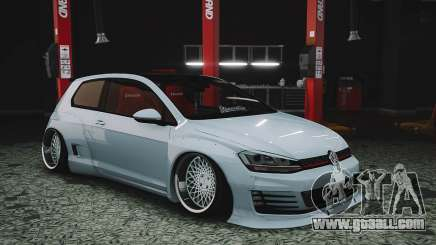 Vw Golf GTI Pandem mk7 for GTA 5