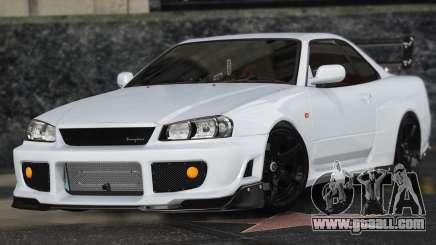 Nissan Skyline GT-R 34 for GTA 5