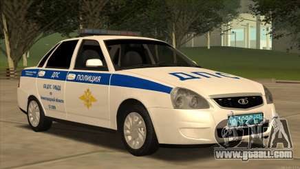 Lada 2170 ABOUT traffic police for GTA San Andreas