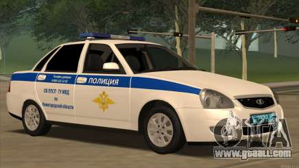Lada 2170 ABOUT PPSP for GTA San Andreas