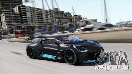 2019 Bugatti Divo for GTA 5