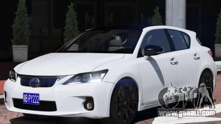 Lexus CT200h for GTA 5