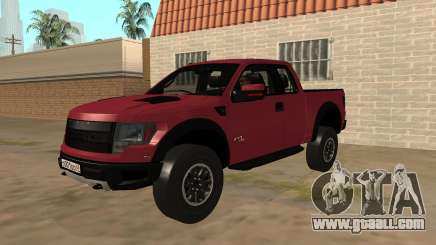 Ford F150 Raptor Stock for GTA San Andreas