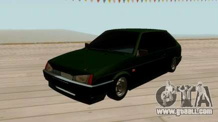 VAZ 2108 Green tinted for GTA San Andreas
