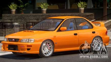 1991 Subaru Impreza STI for GTA 4