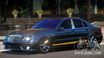 Mercedes Benz E63 Black Edition for GTA 4