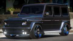 Mercedes Benz G500 Tuned for GTA 4