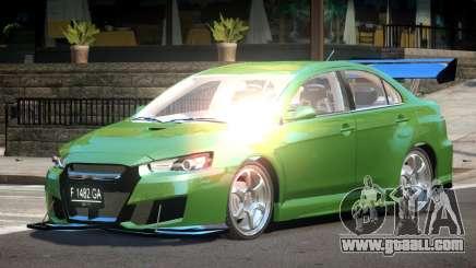 Mitsubishi Lancer X GT-R for GTA 4