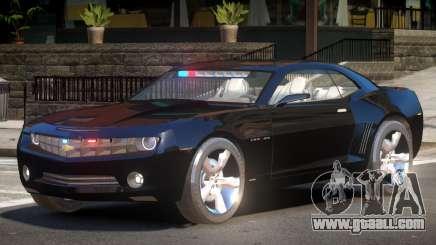 Chevrolet Camaro Police V1.1 for GTA 4