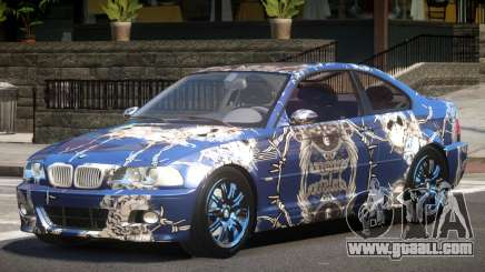 BMW M3 E46 GT PJ5 for GTA 4