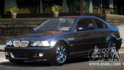 BMW M3 E46 GT for GTA 4