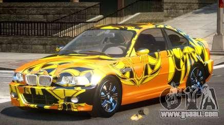 BMW M3 E46 GT PJ1 for GTA 4