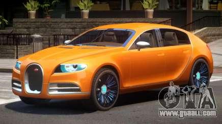 Bugatti Galibier V1.0 for GTA 4