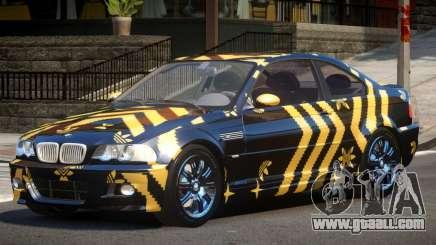BMW M3 E46 GT PJ3 for GTA 4
