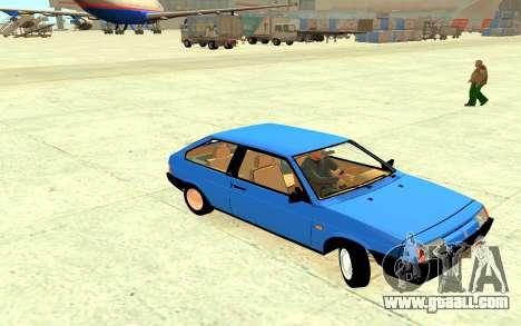 VAZ 2108 Korotkoactute V2 for GTA 4