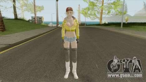Cindy Aurum (Final Fantasy XV) for GTA San Andreas