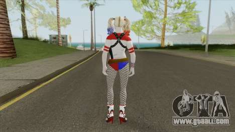 Harley Quinn (DC Comics Legends) for GTA San Andreas
