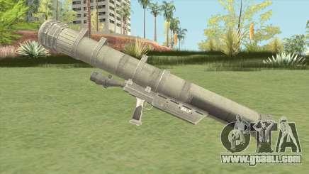 Heat-Seeking Rocket Launcher (HD) for GTA San Andreas