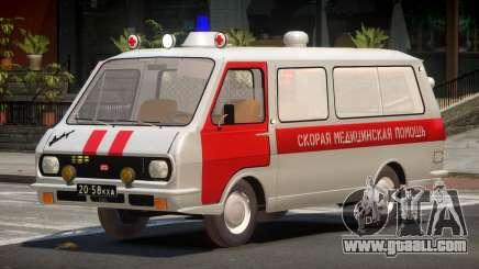 RAF 22031 Ambulance for GTA 4