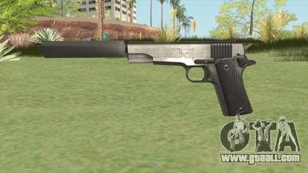 Silenced Pistol (HD) for GTA San Andreas