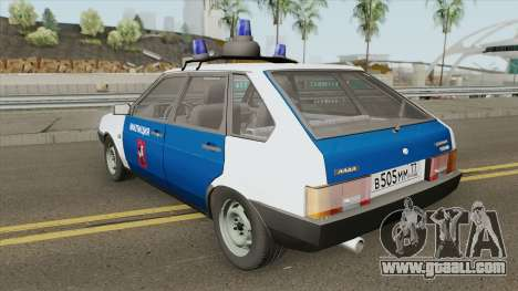 2109 (Police of Moscow) for GTA San Andreas