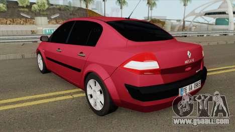 Renault Megane (Sedan) for GTA San Andreas