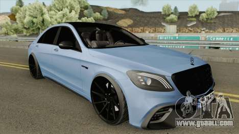 Mercedes-Benz W222 S63 (AMG Mafia) for GTA San Andreas