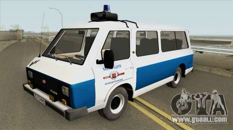 RAF 22038 (Municipal Police) for GTA San Andreas