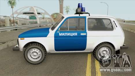 VAZ 2121 (Police) 1994 for GTA San Andreas