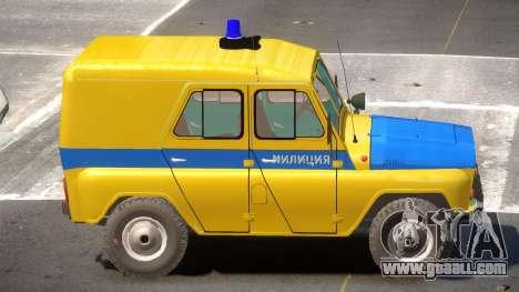 UAZ 469 Police for GTA 4