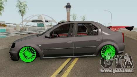 Dacia Logan (Drift) for GTA San Andreas