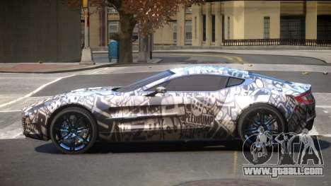 Aston Martin One-77 LS PJ1 for GTA 4
