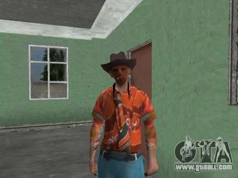 Nikolai Dobrynin (in the role of Mitya Buhangin) for GTA San Andreas