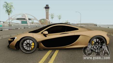 McLaren P1 (RHA) for GTA San Andreas